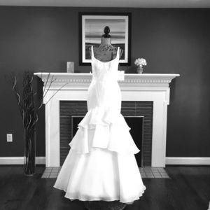 """NWT Elegant Ivory Zac Posen """"Truly"""" Wedding Dress"""